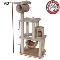 "Majestic 62"" CASITA - FUR By Majestic Pet Products"