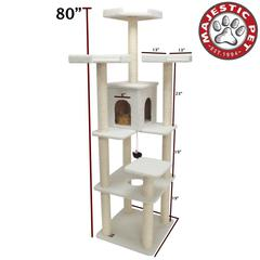 "Majestic 80"" BUNGALOW - SHERPA By Majestic Pet Products"