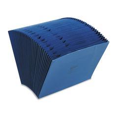 Wilson Jones ColorLife Expanding 1-31 Indexed Files, 31 Pockets, Letter, Dark Blue