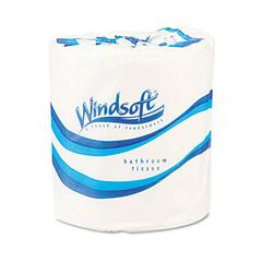 Single Roll One-Ply Premium Bath Tissue, 1000 Sheets/Roll, 96 Rolls/Carton