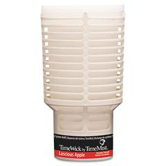 TimeWick Dispenser Refill, Luscious Apple, 6/Carton