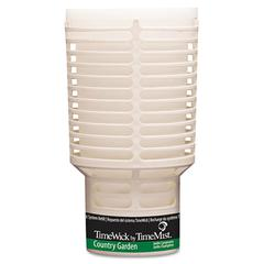 TimeMist TimeWick Dispenser Refill, Country Garden, 6/Carton
