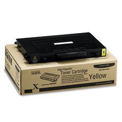 Xerox 106R00682 High-Yield Toner, 5000 Page-Yield, Yellow