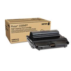 Xerox 106R01412 High-Yield Toner, 8000 Page-Yield, Black