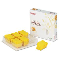 108R00748 High-Yield Solid Ink Stick, 2333 Page-Yield, 6/Box, Yellow