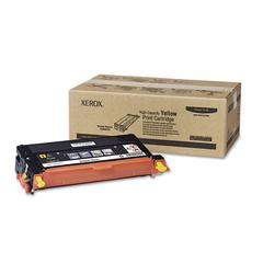 Xerox 113R00725 High-Yield Toner, 6000 Page-Yield, Yellow