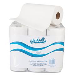 "Paper Towel Roll, 11"" x 8 4/5"", White, 72/Roll, 6 Rolls/Pack"