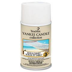 TimeMist Yankee Candle Air Freshener Refill, Sun & Sand, 6.6oz Aerosol