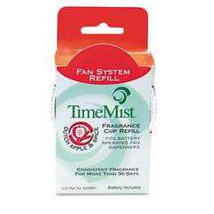 TimeMist Fragrance Cup Refill, Apple & Spice, 1oz, 12/Carton