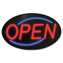Newon Newon LED Sign, Red/Blue, 13 x 21