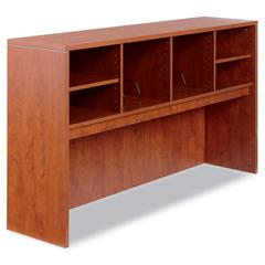 Alera Alera Valencia Series Open Storage Hutch, 64-3/4w x 15d x 35-1/2h, Medium Cherry