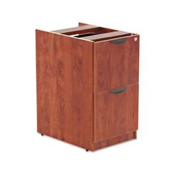 Alera Alera Valencia F/F Drawer Full Pedestal, 15 5/8 x 20 1/2 x 28 1/2, Medium Cherry
