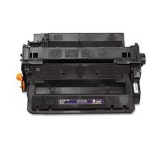 Troy 0281601500 55X Compatible MICR Toner, High-Yield, 12,500 Page-Yield, Black