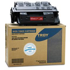 Troy 0281078001 61X Compatible MICR Toner Secure, High-Yield, 10,000 PageYield, Black