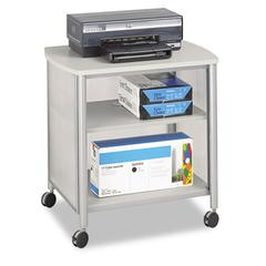 Impromptu Machine Stand, One-Shelf, 26-1/4w x 21d x 26-1/2h, Gray