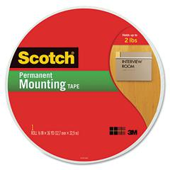 "Foam Mounting Tape, 3/4"" Wide x 1368"" Long"