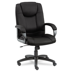 Alera Alera Logan Series Mesh High-Back Swivel/Tilt Chair, Black