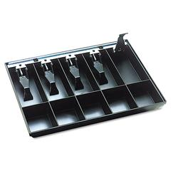 Steelmaster Cash Drawer Replacement Tray, Black