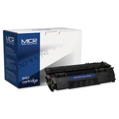 MICR Print Solutions Compatible with Q7553AM MICR Toner, 3,000 Page-Yield, Black