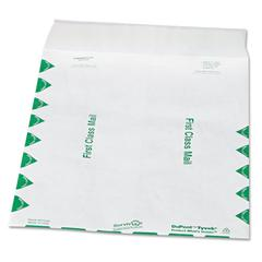 SURVIVOR Tyvek USPS First Class Mailer, Side Seam, 9 1/2 x 12 1/2, White, 100/Box
