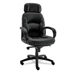 Nico Series High-Back Swivel/Tilt Chair, Black