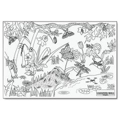 "Pacon Learning Walls Paper, Insects, 72"" x 48"""