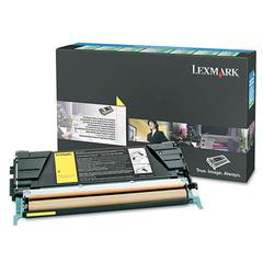 Lexmark C5246YH High-Yield Toner, 5000 Page-Yield, Yellow