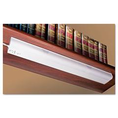 Ledu Under Cabinet Fluorescent Lamp, Steel, White