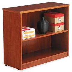 Alera Alera Verona Veneer Series Bookcase, Two-Shelf, 35-1/2w x 14d x 29-1/2h, Cherry