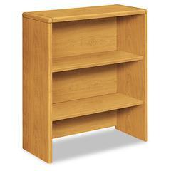 HON 10700 Series Bookcase Hutch, 32 5/8w x 14 5/8d x 37 1/8h, Harvest