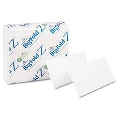 Z C-Fold Replacement Paper Towels, 8 x 11, White, 260/Pack, 10 Packs/Carton