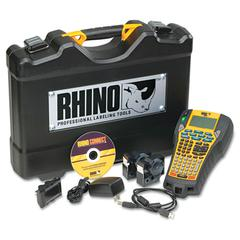 Rhino 6000 Industrial Label Maker Kit, 5 Lines, 13 4/5w x 17 4/5d x 4h