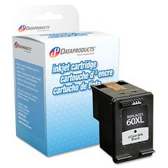 Dataproducts Remanufactured CC641WN (60XL) High-Yield Ink, 600 Page-Yield, Black