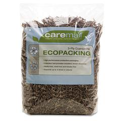 Caremail EcoPacking 3-Ply Cushioning Fill, Recycled, 0.31 Cubic Ft Bag