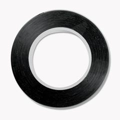 "Art Tape, Black Gloss, 1/8"" x 324"""
