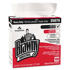 Georgia Pacific Professional Heavy-Duty Shop Towels, 9 1/8 x 16 1/2, 100/Box, 5 Boxes/Carton