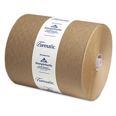 Georgia Pacific Professional Hardwound Roll Towels, 8 1/4 x 700ft, Brown, 6/Carton