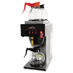 Coffee Pro High-Capacity Institutional Plumbed-In Brewer, Stainless Steel