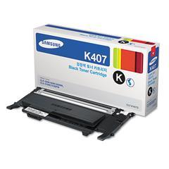 CLTK407S (CLT-K407S) Toner, 1,500 Page-Yield, Black