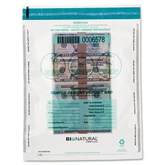 Cash Bags, 12 x 16, Clear, 100/Pack