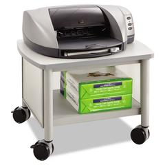 Safco Impromptu Under Table Printer Stand, 20-1/2w x 16-1/2d x 14-1/2h, Gray
