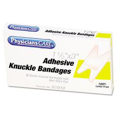 First Aid Fabric Knuckle Bandages, 8/Box