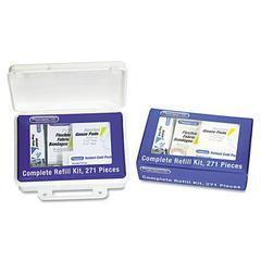 Complete Care First Aid Kit Refill, 271 Pieces/Kit
