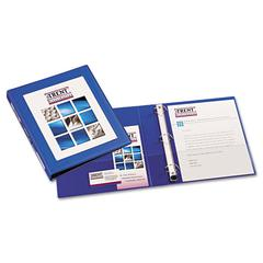 "Avery Framed View Heavy-Duty Binder w/Locking 1-Touch EZD Rings, 1"" Cap, Pacific Blue"