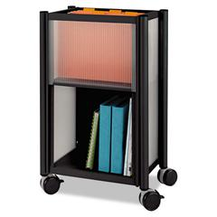Safco Impromptu Mobile Storage Center, 18-3/4w x 16d x 26-1/2h, Black