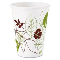 Dixie Pathways Polycoated Paper Cold Cups, 12oz, 2400/Carton