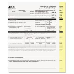 PM Company Digital Carbonless Paper, 8-1/2 x 11, Two-Part Collated, White/Canary, 2500 Sets