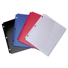 Wilson Jones Snapper Twin Pocket Poly Folder, 8-1/2 x 11, Assorted Colors