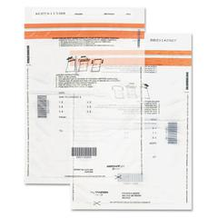 Quality Park Tamper-Evident Deposit Bags, 12 x 16, Clear, 100 per Pack