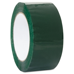 "Duck Commercial Grd Color-Coding Packaging Tape, 1.88"" x 109.3yds, 3"" Core, Green"